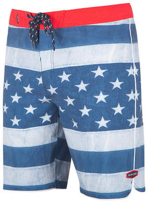 """Rip Curl Men's Admiral Stars and Stripes 20"""" Board Shorts"""
