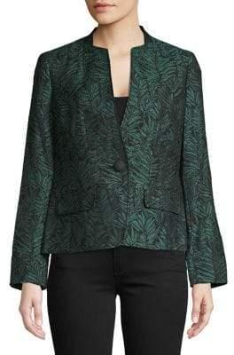 Kasper Suits Graphic Long-Sleeve Jacket