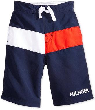 Tommy Hilfiger Vintage Tommy Boardshorts, Little Boys (2-7) $37.50 thestylecure.com