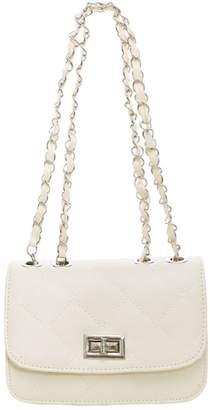 uxcell® Women Turn-Lock Clasp Argyle Design Iterior Zipper Pocket Shoulder Bag