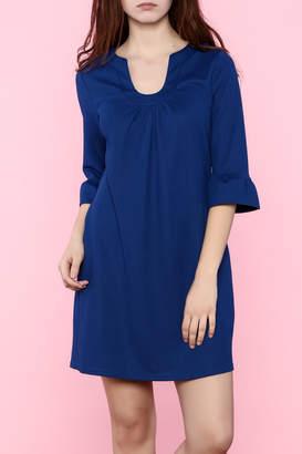 Aryeh Three-Quarter Sleeve Dress