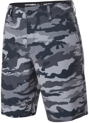 """O'Neill Men's Loaded Camouflage-Print Hybrid 20"""" Shorts $49.50 thestylecure.com"""