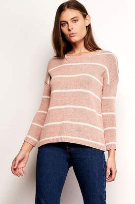 BB Dakota Striped Summer Sweater