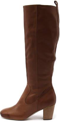 Django & Juliette Array Tan Boots Womens Shoes Casual Long Boots