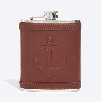J.Crew Embossed anchor flask