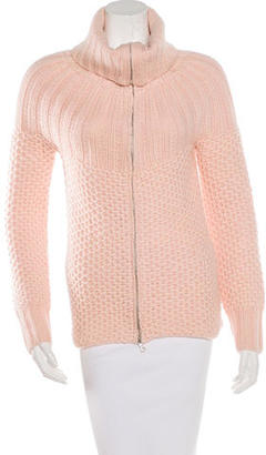 Inhabit Cashmere Zip-Up Cardigan $185 thestylecure.com