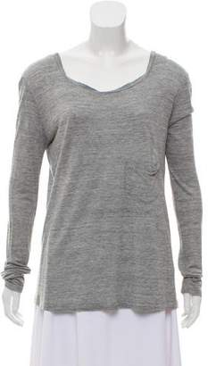 A.L.C. Long Sleeve Knit Top