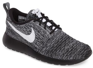 Nike FlyKnit Roshe Run Sneaker $120 thestylecure.com
