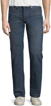 Tom Ford Straight-Leg Denim Jeans, Aged Indigo