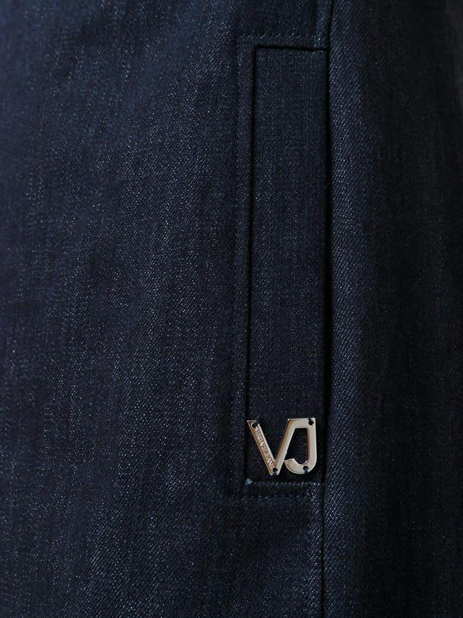 Versace studded collar dress