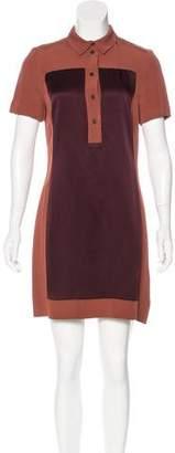 Victoria Beckham Victoria, Short Sleeve Mini Dress
