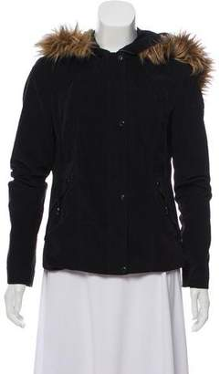 Robert Rodriguez Faux Fur-Trimmed Hooded Jacket