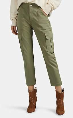 3x1 Women's Alana Crop Cargo Pants - Green