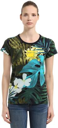 Aloha Printed Cotton T-Shirt