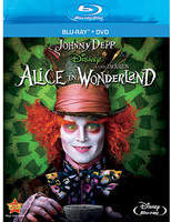 Disney Alice In Wonderland - 2-Disc Blu-ray + DVD Combo Pack