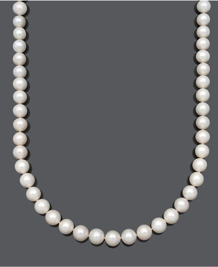 Belle de Mer AA+ 20and#034; Cultured Freshwater Pearl Strand Necklace (10-1/2-11-1/2mm) in 14k Gold
