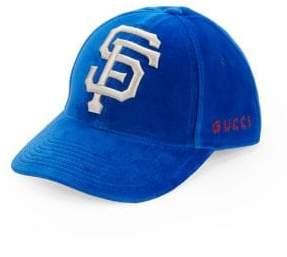 Gucci San Francisco Giants Velour Baseball Cap