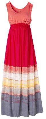 Liz Lange for Target® Maternity Sleeveless Maxi Dress - Bright Coral