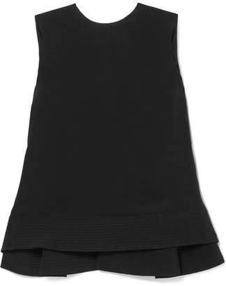 Roksanda Silk-crepe Top - Black