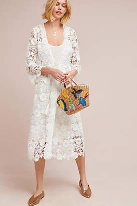 Ne Quittez Pas Odette Lace Kimono