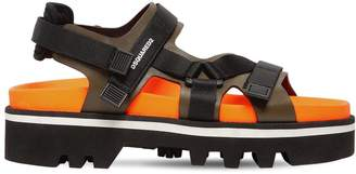 DSQUARED2 Jeff Chunky Leather Sandals