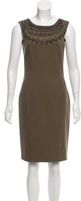 Emilio Pucci Sleeveless Embellished Dress