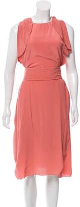 Schumacher Dorothee Silk Midi Dress w/ Tags