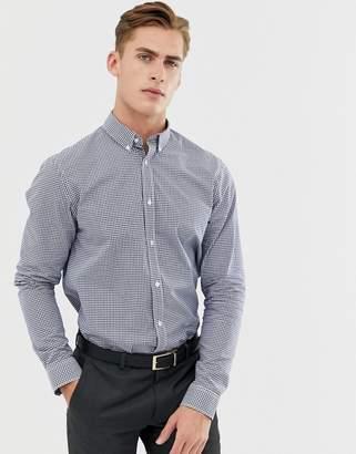 Ben Sherman Gingham Shirt In Navy