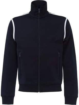 Prada Cotton jersey zip sweatshirt