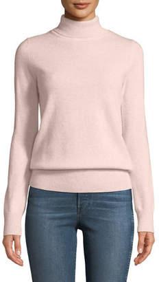 Neiman Marcus Cashmere Turtleneck Sweater, Plus Size