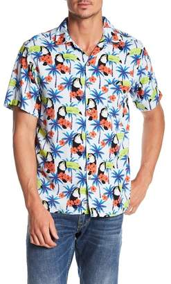 Trunks Surf and Swim CO. Toucan Print Shirt
