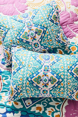 Anthropologie Artisan Quilts by Leticia Shams, Set of 2