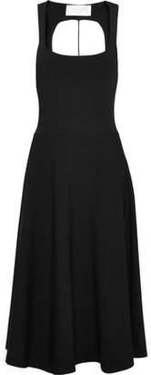 Esteban Cortazar Capri Cutout Stretch-Knit Dress