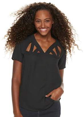 Grayson Threads Juniors' Cutout Top