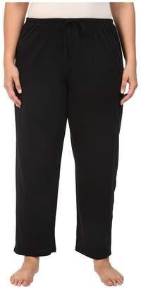 Jockey Cotton Essentials Plus Size Long Pajama Pant Women's Pajama