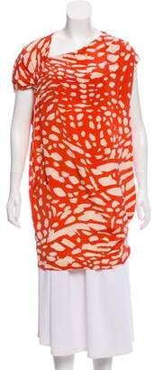 Thakoon Silk Printed Tunic