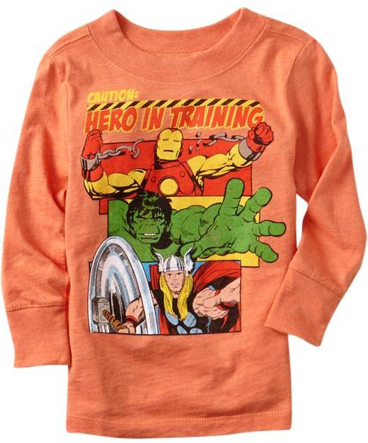 """Old Navy Marvel™ """"Hero in Training"""" Tees for Baby"""