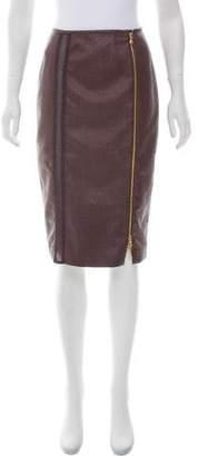 Sophie Theallet Zip-Up Knee-Length Skirt w/ Tags