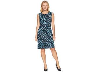 Nic+Zoe Petite Vivid Twist Dress Women's Dress