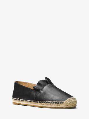Michael Kors Laticia Leather Espadrille