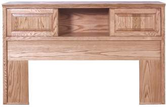 Forest Designs Traditional Oak Bookcase Headboard: 64W x 42H x 12D