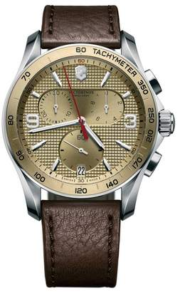 Victorinox Swiss Army Men's Chrono Classic Swiss Chronograph Watch $625 thestylecure.com