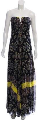 Nicole Miller Printed Silk Dress w/ Tags