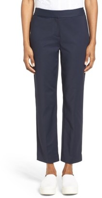 Women's Nordstrom Collection 'Veloria' Slim Ankle Pants $169 thestylecure.com