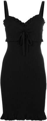 Kenzo ribbed bow tie dress