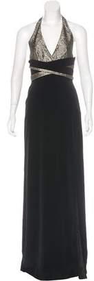 Lanvin Halter Evening Dress w/ Tags