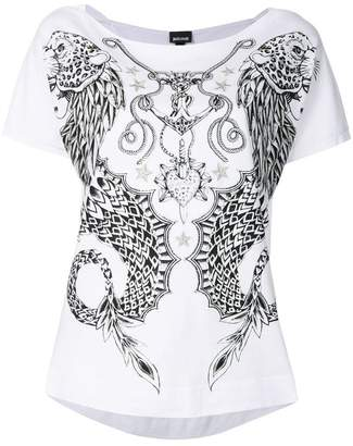 Just Cavalli short-sleeved printed T-shirt
