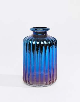 Sass & Belle Christmas oil slick vase