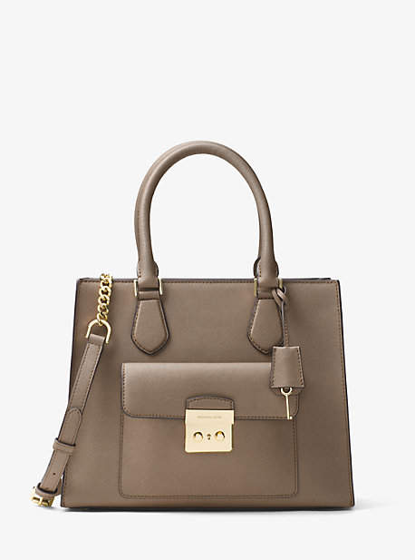 MICHAEL Michael Kors Michael Kors Bridgette Medium Saffiano Leather Tote