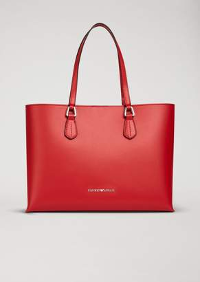 Emporio Armani Red Tote Bags - ShopStyle 2116a9a776a94